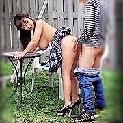 公園でパコる男女盗撮